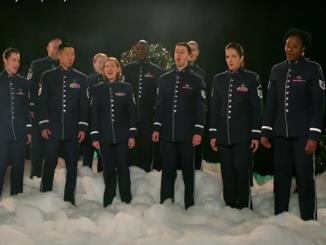 Хор ВВС США, Щедрик, колядка, Новый год 2021, США