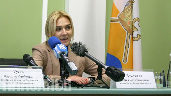 Анна Замазеева (с) Фото - А. Рубанская, Вечерний Николаев