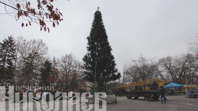 новогодняя елка в сказке