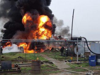пожар на нефтебазе, Николаев, Гороховка, нефтебаза, ГСМ, склад, пожар, спасатели, новости,