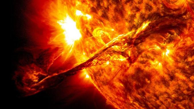 Магнитная буря, вспышка на Солнце, Космос