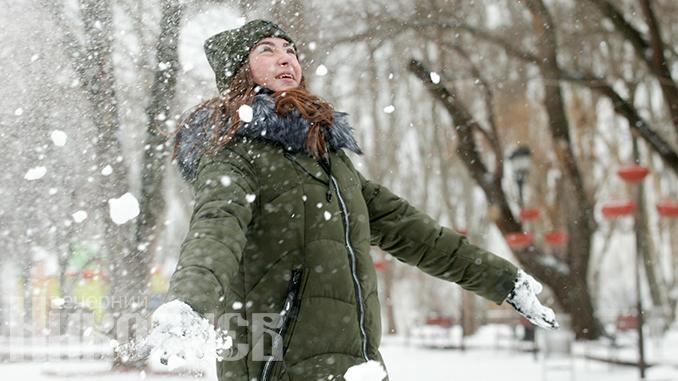 Погода в Украине, снег, зима, похолодание, гололед