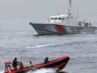 Турция, Черное море, береговая охрана