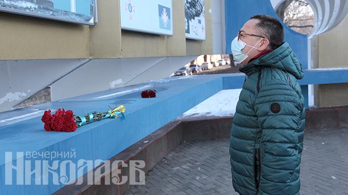 День памяти защитников Донецкого аэропорта, ДАП, Николаев, 79 бригада (с) Фото - А. Сайковский, Вечерний Николаев