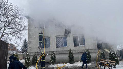 Пожар в Харькове, новости, дом престарелых, ГСЧС, Зеленский, Харьков, пожар, смерть,