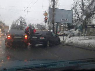 ДТП, гололед в Николаеве, происшествия, новости Николаева