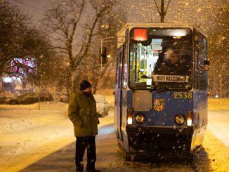 Во Вроцлаве оборудовали трамвай как пункт обогрева для бездомных