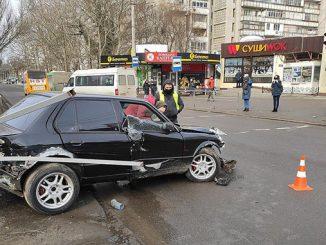 ДТП, авария на 3 Слободской в Николаеве