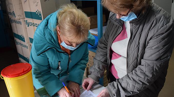 Вакцинация, прививка против COVID-19, Николаевская область, коронавирус