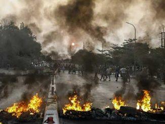в Мьянме, переворот, протесты, новости, протестующие, военные, смерть, протесты, Мьянма, ООН, Гуттериш