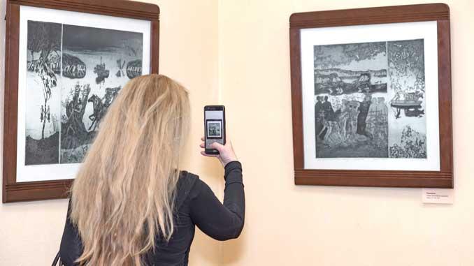 Выставка Бахтова