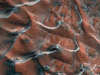 морозные дюны Марса, новости, НАСА, NASA, США, космос, фото, Марс, Perseverance, дюны, марсоход