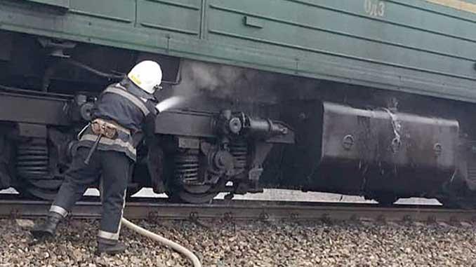 горел поезд, поезд, ГСЧС, Николаев, пожар, новости, происшествия