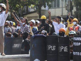 Мьянма, протесты, переворот в Мьянме
