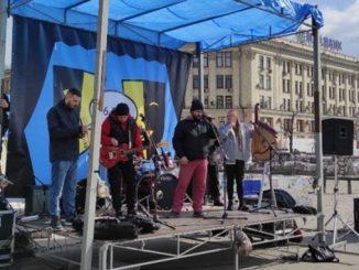 Протест, Харьков, актеры театров, Де мої 16 тищ, День театра