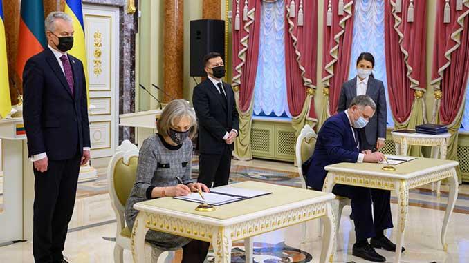 Декларации о европейской перспективе Украины, новости, Украина, Литва, Гитанас Науседа, ЕС, Европейский союз, Европа,
