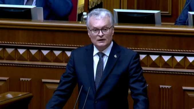 президент Литвы, Гитанас Науседа, новости, ВР, Литва, Украина, парламент, Верховна Рада,