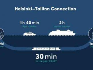 тоннель между столицами Эстонии и Финляндии, новости, тоннель, железнодорожный, столица, Финляндия, Эстония, Таллинн, Хельсинки, Финский залив, договор, строительство