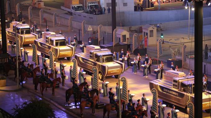 Золотой парад фараонов, Египет, Каир