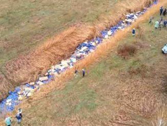 Тысячи канистр с неизвестным веществом, новости, происшествия, Киев, река, Кизка, канистры, экология, загрязнение