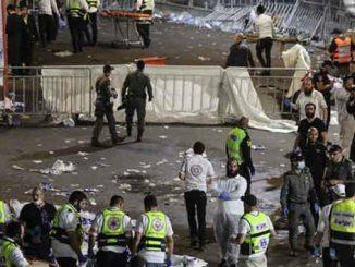 В Израиле упала трибуна, происшествия, новости, Израиль, трибуна, Лаг-ба-Омер, трагедия