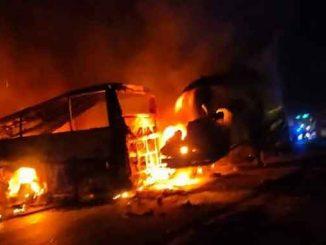В Египте ДТП, происшествия, Египет, автобус, ДТП, пожар, смерть, жертвы