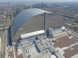 ЧАЭС, Укрытие, саркофаг, Чернобыль, ЕБРР, конфайнмент, защитное сооружение, арка, радиация,