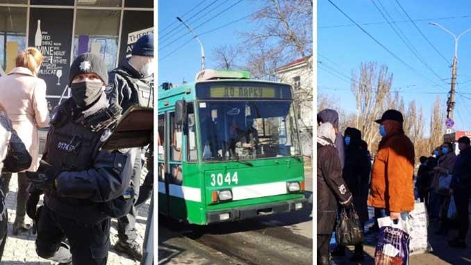 Усиление карантина в Николаеве, новости, карантин, коронавирус, полиция, пандемия, общественный транспорт, ярмарка,