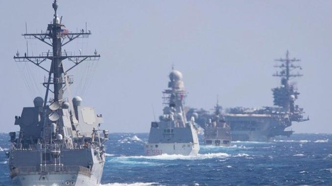 Dwight D. Eisenhower, авианосец ВМС США, Черное море, учения НАТО