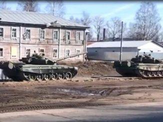 Лагерь российских военных, РФ, российская агрессия