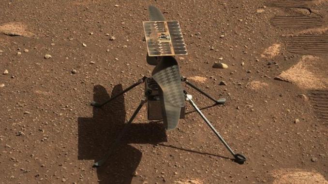 Ingenuity, вертолет на Марсе
