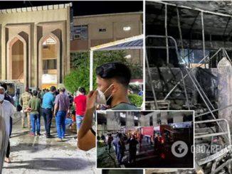 Пожар в Багдаде в COVID-больнице