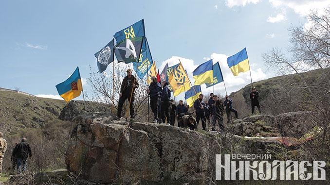 Бугский Гард, экология, акция протеста, Фото Александра Сайковского