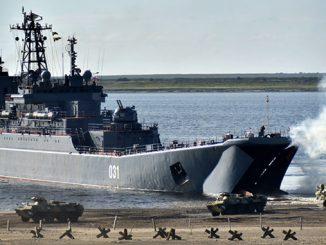 Россия, учения, Крым, десантный корабль