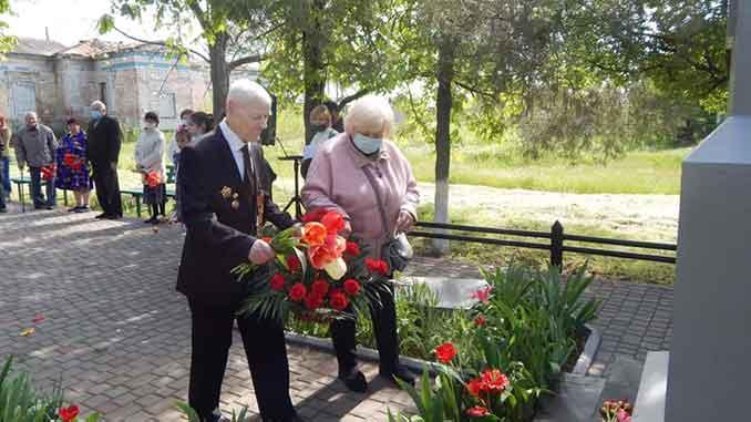 НАРП, ветераны, братская могила, Кульбакино, корпус генерал-майора Свиридова, обелиск, митинг, память, Вторая мировая война,