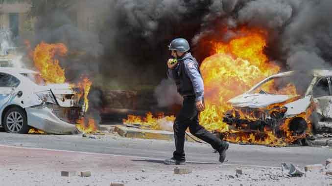 Обмен ударами, Израиль, сектор Газа, новости, конфликт, жертвы, обстрелы, война, Ближний Восток, ХАМАС,