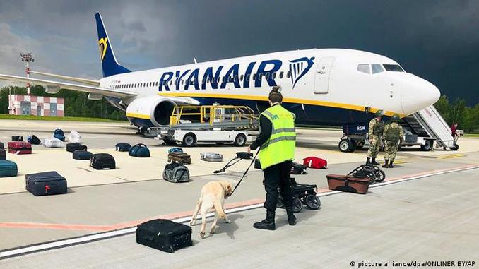Глава Ryanair, новости, Беларусь, самолет, О'Лири, Протасевич, Сапега. воздушное пиратство,
