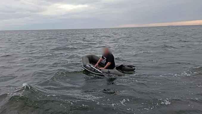 спасатели, ГСЧС, новости, происшествия, море, Березань, открытое море