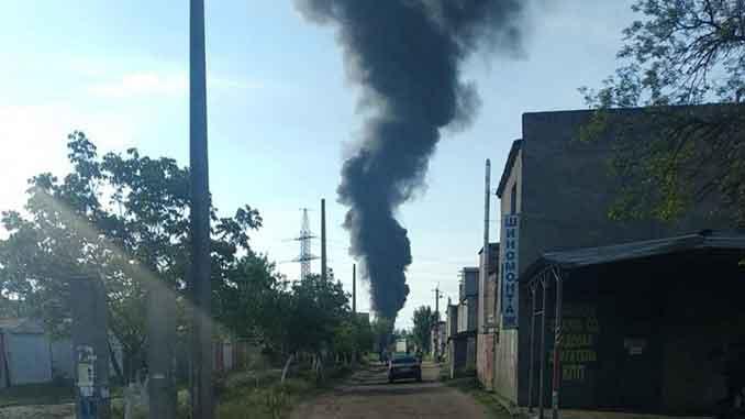 в Николаеве пожар, новости, ГСЧС, пожар, Николаев, происшествия