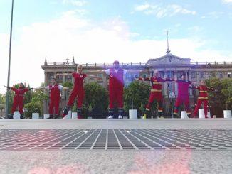 Николаевские медики присоединились к танцевальному флешмобу