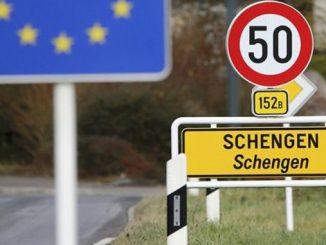 Шенгенская зона, граница, Европа, ЕС, Евросоюз