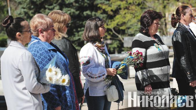 ветераны ато, день матери, николаев, фото александра сайковского вн