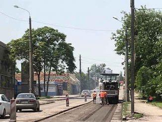На Одесском шоссе, новости, Николаев, Велике будівництво, дорога, ремонт, асфальт, М-14, трасса