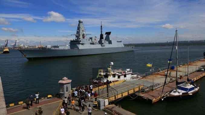 НАТО, NATO, корабли, море, эсминец, Одесса, Украина, порт, новости, фрегат