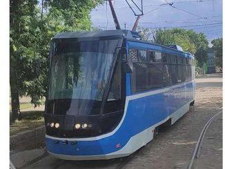 Голубой трамвай Николаев