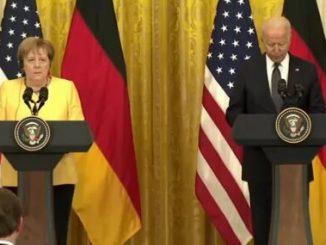 Байден и Меркель, новости, Украина, НАТО, Байден, Меркель, РФ, агрессия, конфликт, война, защита, NATO,