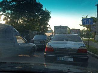 Пробки на Варваровском мосту