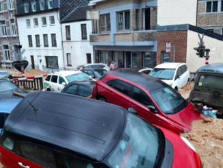 Наводнение в Бельгии