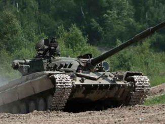случайно обстреляли поселок, новости, Николаев, область, учения, обстрел, танк, Т-64, поселок, Чемерлиево
