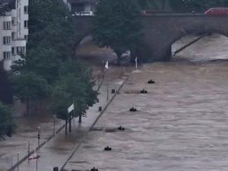 Наводнение в Европе
